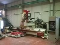 CNC IMA BIMA 410V, CON GRUPO CANTEADOR