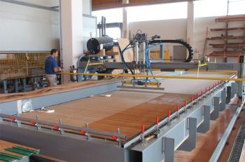 SARMAX Prensas de membranas para la fabricación de tableros contralaminados CLT